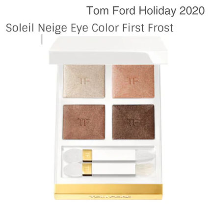 TOM FORD(トムフォード) アイメイク ホリデー★Tom Ford★Soleil Neige Eye Color Quad First Frost