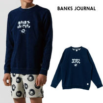 【最短翌日着】BANKS JOURNAL TY WILLIAMS BEING FLEECE WFL0248