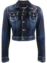 【関税負担】 DSQUARED2 Crop Denim Jacket