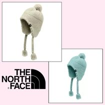 THE NORTH FACE GIRLS' PURRL STITCH EARFLAP BEANIE ビーニー