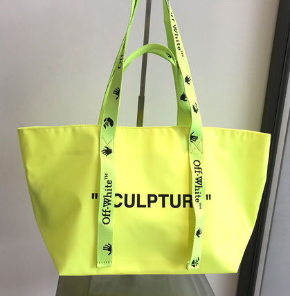 Off-White(オフホワイト)Small Commercial bag YELLOW BLACK
