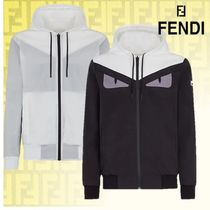 【FENDI】   Giacca a vento in nylon multicolorリバーシブル