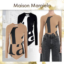 【20AW NEW】 Maison Margiela_women / Marg' ボディスーツ /2色