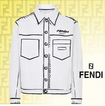 【FENDI】   Giacca Fendi Roma Joshua Vides in denim