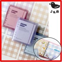 ☆韓国の人気☆JAM STUDIO☆Square Diary A6 WIDE☆5色☆