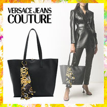 【Versace Jeans Couture】スカーフ ディテール ハンドバッグ