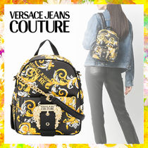 【Versace Jeans Couture】バロック ロゴ バックパック