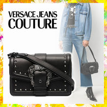 【Versace Jeans Couture】バロック バックル ショルダーバッグ