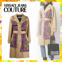 【Versace Jeans Couture】バロック トレンチコート
