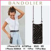 新色!! ☆Bandolier☆ Sheila Pyramid Embossed Crossbody