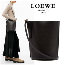 ∞∞ LOEWE ∞∞ Gate anagram leather バケットバッグ☆BLK