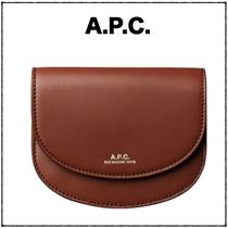 【A.P.C.】 関税込み コンパクト財布 Geneve