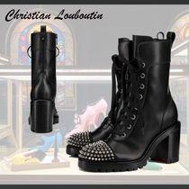 Christian Louboutin◆Ts Croc 70mm レースアップブーツ