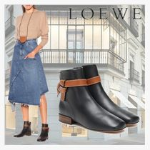 【LOEWE】Gate leather ankle boots