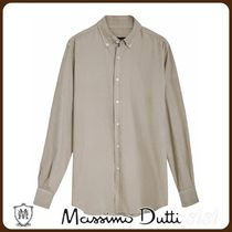 MassimoDutti♪SLIM FIT NEEDLECORD SHIRT MADE OF 100% COTTON