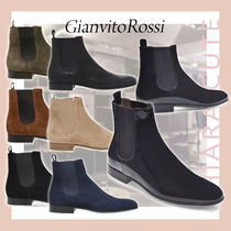 【20AW NEW】Ginavito Rossi_men/ALAIN/ スエード CALF パテント