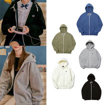 送料込★muahmuah★ WAPPEN STICKER HOOD ZIPUP (5COLORS)