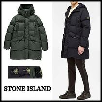 【STONE ISLAND】GARMENT DYED CRINKLE REPS NY ダウンコート