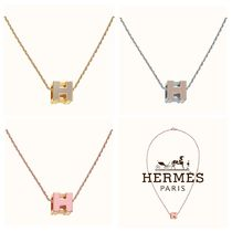HERMES エルメス Pendant Cage D'H 大人気ペンダント 直営買付