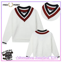 FRED PERRY(フレッドペリー) ニット・セーター 【FRED PERRY】Tilden Knit(J09) ★Seventeen Jeonghan着用★