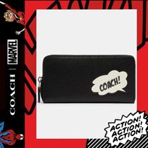 COACH×Marvel★Accordion Zip Wallet With Coach Bubble 3489