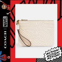 COACH×Marvel★Gallery Pouch With Star Quilting 2647