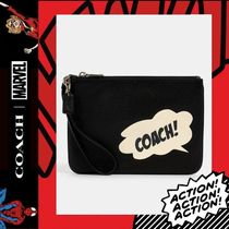 COACH×Marvel★Gallery Pouch With Coach Bubble 2648