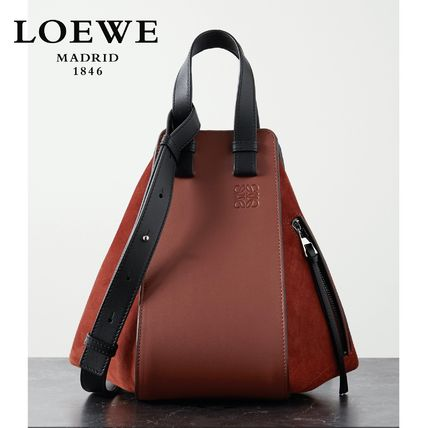 New ∞∞ LOEWE ∞∞ Hammock small leather shoulder バッグ☆