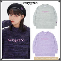 日本未入荷TARGETTO SEOULのLOGO COLOR MIX KNIT 全3色
