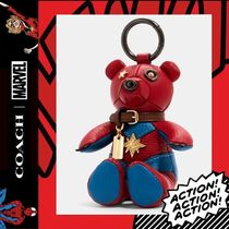 COACH×Marvel★Carol Danvers Collectible Bear Bag Charm 2045