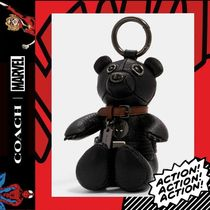 COACH×Marvel★Black Panther Collectible Bear Bag Charm 2750