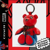 COACH×Marvel★Spider-Man Collectible Bear Bag Charm 2751