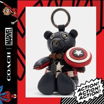 COACH×Marvel★Captain America Collectible Bear BagCharm2752