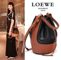 ∞∞ LOEWE ∞∞ Balloon medium two-tone bucket バッグ☆