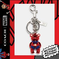 限定コラボ★COACH×Marvel★Carol Danvers Bear Bag Charm 2046