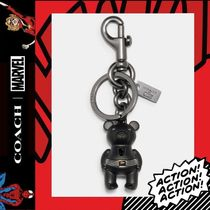 限定コラボ★COACH×Marvel★Black Panther Bear Bag Charm 2753