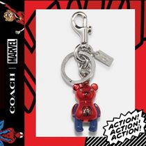 限定コラボ★COACH×Marvel★pider-Man Bear Bag Charm 2754