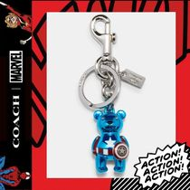 COACH×Marvel★Captain America Bear Bag Charm 2755
