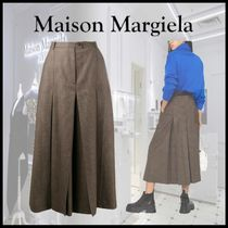 【20AW 新作】 Maison Margiela Gonna midi plissettata
