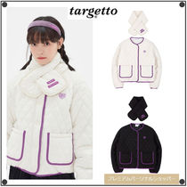 TARGETTO SEOULのCOLORATION QUILTING JACKET & MUFFLER 全2色