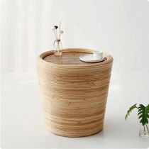 【MARKET B】PASAR Round Table 44 Rattan CR0023