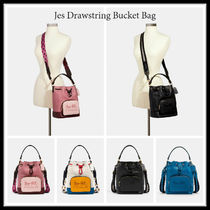 10月新作【Coach】Jes Drawstring Bucket Bag バケツ型バッグ