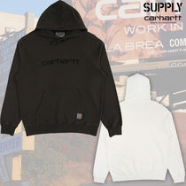 Supply x CarharttWIP ★Hd Pigment DyedSweat★ ロゴ パーカー