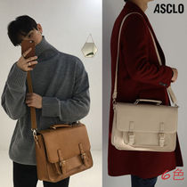 【ASCLO】★ Satchel bag ★ 6色 / 追跡可能