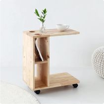 【MARKET B】DIGOOD Movable Side Table 5030 Rubber Tree