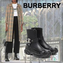 【Burberry】Mallory TB leather ankle boots