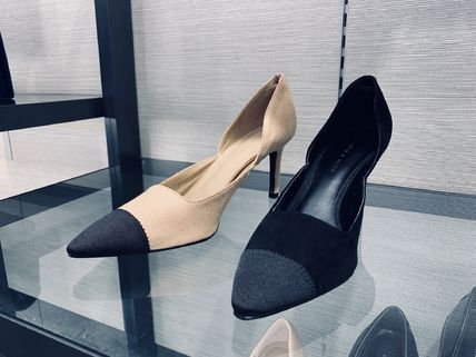Charles&Keith パンプス Charles&Keith★Textured D'Orsay Stiletto Pumps/size22-26cm(2)