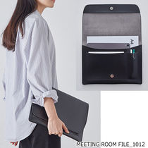 ithinkso(アイシンクソー) デザイン文具・ステーショナリその他 ithinkso■MEETING ROOM FILE_1012 クラッチファイル