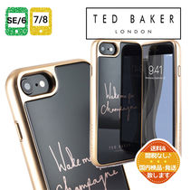 【TED BAKER】Champagne 強化ガラス iPhone SE / 8 / 7 / 6