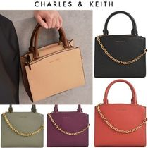 【Charles&Keith】チェーン取外し可! 多用途2wayバッグ *送料込